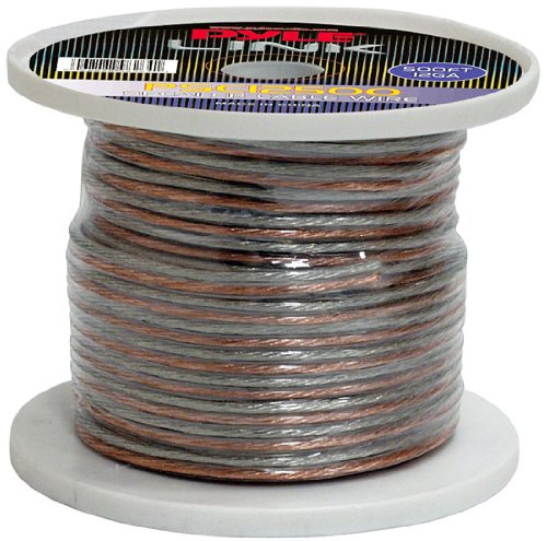 Pyle Psc12500 12-Gauge 500-Feet Spool Of High Quality Speaker Zip Wire