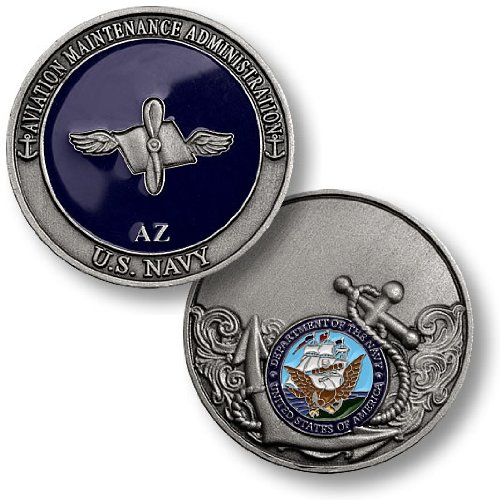 Aviation Maintenance Administration Challenge Coin