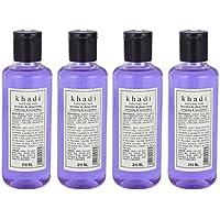 Khadi Lavender & Ylang Ylang Body Wash - 210ml (Set Of 4)