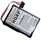 HQRP 1100mAh Battery for Magellan RoadMate 1700LM 5045LM GPS Navigator 1700-LM 5045-LM T300-3 T3003 + HQRP Coaster