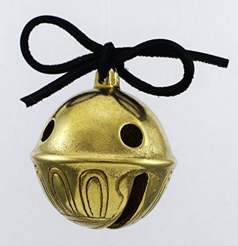 Santa's Sleigh Bells Real Brass Polar Sleigh Bell, Jingle Bell Express ...