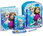 Frozen Backpack Filled with Stationer...
