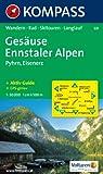 Ges�use, Ennstaler Alpen, Pyhrn, Eisenerz: Wandern, Rad, Skitouren, Langlauf. GPS-genau. 1:50.000