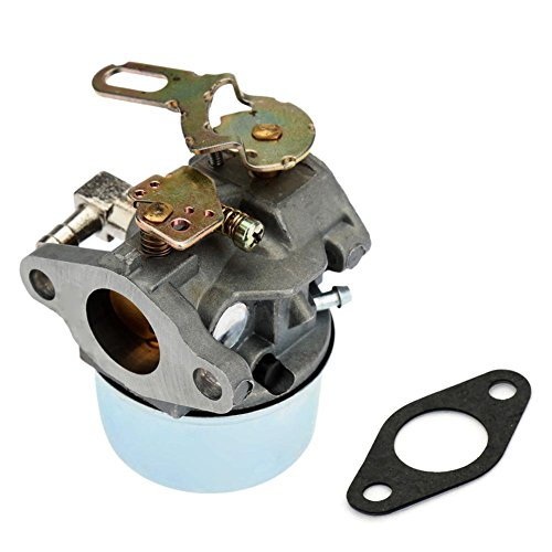 FitBest Carburetor for Tecumseh 632107 632107A 640084 640084A 640084B Snowblowers HSK40 HSK50 HS50 LH195SP with Gasket (Tecumseh Snow Blower Carburetor compare prices)