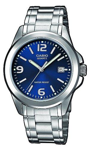 Casio  MTP-1259PD-2AEF - Reloj de cuarzo para hombre, con correa de acero inoxidable, color plateado