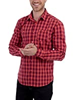 BLUE COAST YACHTING Red Squared Shirt Red Squared Shirt (ROJO)