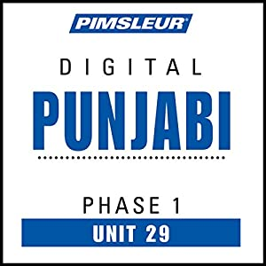 Punjabi Phase 1, Unit 29 Audiobook