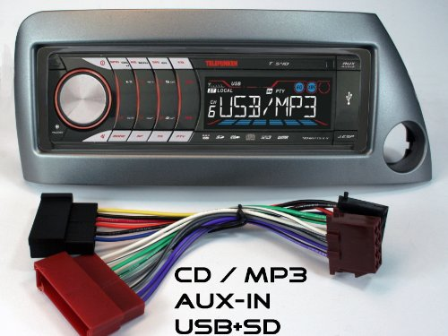 RDS-AUTORADIO für Ford KA mit UKW, CD + MP3/WMA-USB+SD+MMC+AUX-IN;