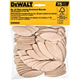 DEWALT DW6820 No. 20 Size Joining Biscuits (75 Pieces)