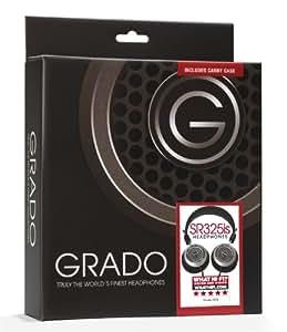 Grado SR325i Prestige Series Open Backed Headphones with Carry Case Bundle