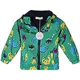 Arshiner Baby Kids Boys Fleece Coat Jacket Carton Animal Hooded Raincoat Outerwear