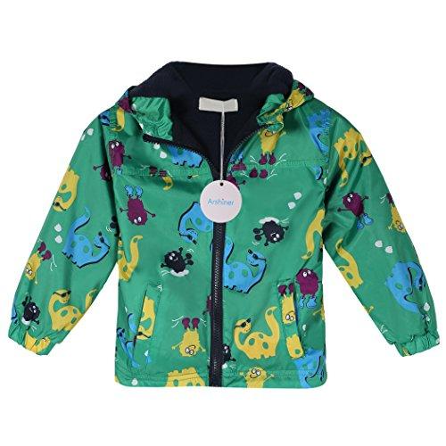 Arshiner Outerwear impermeabile con cappuccio in cartone animato per i bambini e ragazzi