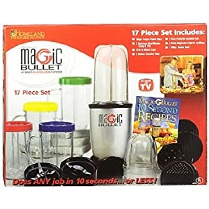 Magic Bullet Express 17-Piece High-Speed Blender Mixing System