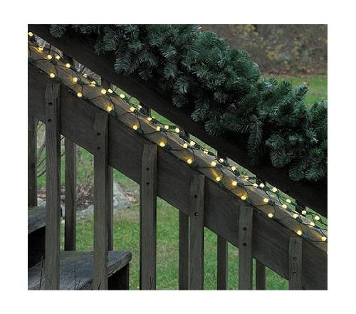 Christmas Outdoor Decor 5 39 X 8 Warm Clear Led G12 Berry