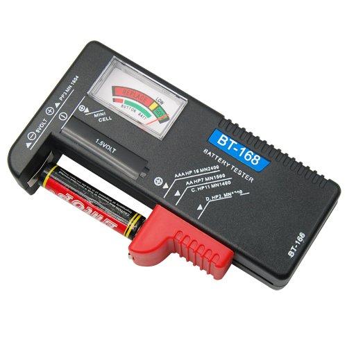 Veroda AAA AA C D 9 V Pile bouton universel Detecteur Testeur de batterie