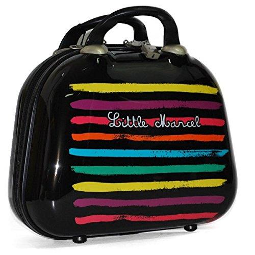 Little Marcel , Beauty Case da viaggio  Multicolore vielfarbig 35x26x15 cm
