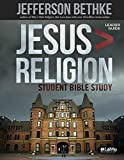Jesus is Greater than Religion, Leader Guide (Student Edition)