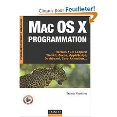 couverture du livre Mac OS X Programmation