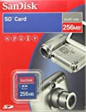 SanDisk SDSDB-256-A10 256 MB Secure Digital Card (Retail Package)
