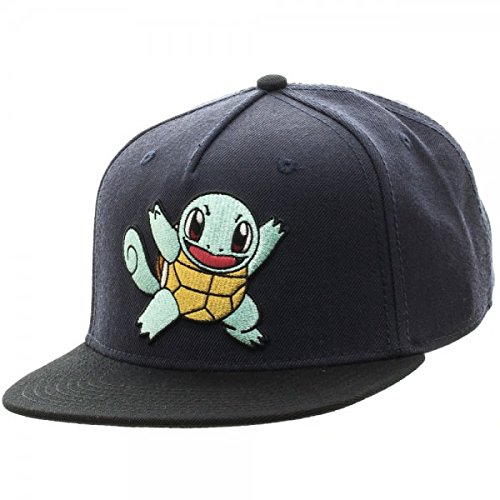 Pokemon-Cappellino da Baseball, Color Block Squirtle sb3f3ypok Snapback-Cappello