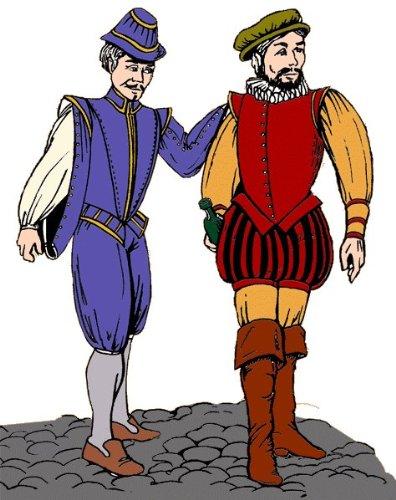 The Elizabethan Gentleman's Wardrobe Pattern (Elizabethan Costume Pattern)