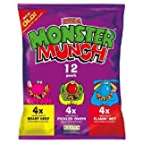 Walkers Monster Munch Variety Snacks 12 x 22g