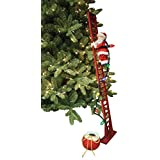 Mr. Christmas Super Climbing Santa Figurine by Mr. Christmas Inc.