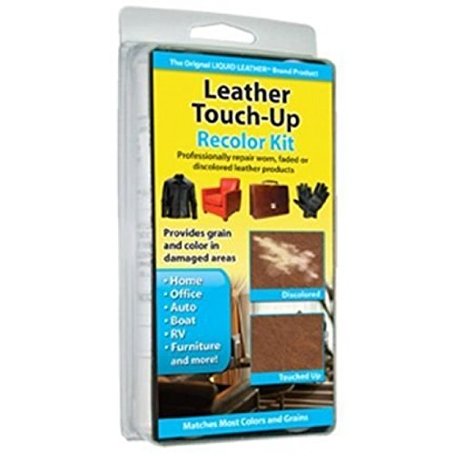 Liquid Leather Touch Up Recolor Kit Vinyl Repair Sofa