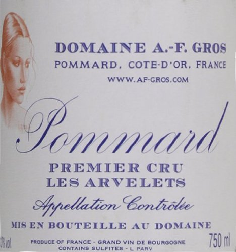 2007 Domaine A.-F. Gros Pommard Les Arvelets Burgundy Pinot Noir 750 Ml