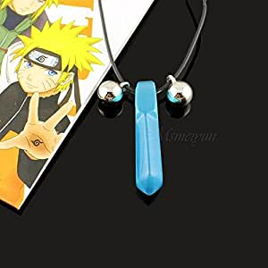 Generic Imported Amine Naruto Jinchuuriki Blue Necklace