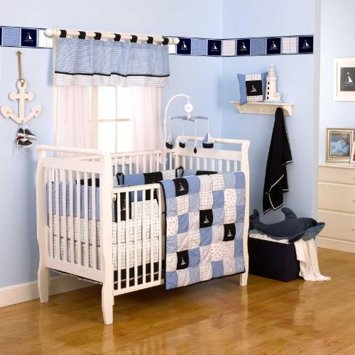 Nautica Kids William  Piece Crib Bedding Set