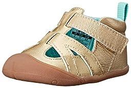 Carter\'s Every Step Artemis Stage 1 Crawl Walking Shoe (Infant), Gold, 2 M US Infant