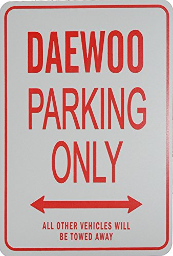 daewoo-parking-only-sign