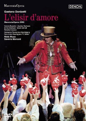 ドニゼッティ:歌劇《愛の妙薬》マチェラータ音楽祭2002年 [DVD]