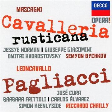Opera! Cavalleria Rusticana & Pagliacci - Pietro Mascagni  - CD