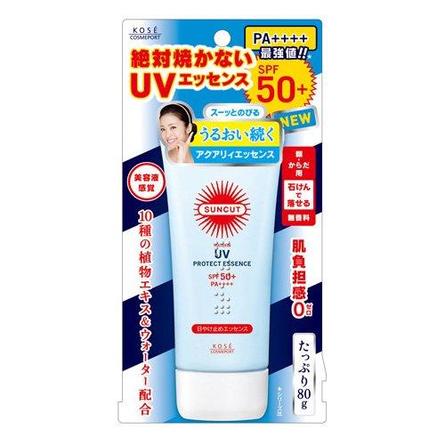 コーセー サンカツト UVエッセンス 80g