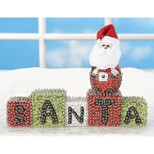 Sunrise Craft & Hobby Santa Blocks Ornament Kit