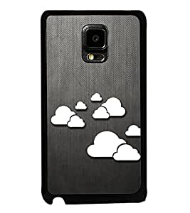 Clouds Pattern 2D Hard Polycarbonate Designer Back Case Cover for Samsung Galaxy Note Edge :: Samsung Galaxy Note Edge N915FY N915A N915T N915K/N915L/N915S N915G N915D