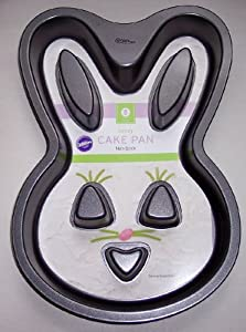 Amazon Com Bunny Cake Pan Non Stick By Wilton Novelty