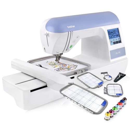 Brother PE770 PE 770 Embroidery Machine W USB Flash