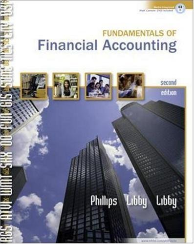 Fundamentals of Financial Accounting w/Landryâ??s Restaurants, Inc 2005 Annual Report [Hardcover]