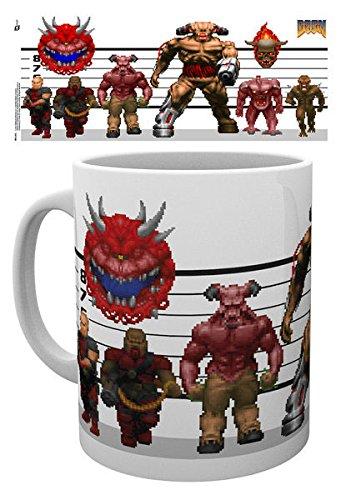 GB Eye, Doom, Classic Enemies, Tazza,