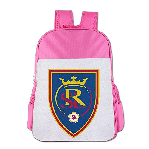 real-salt-lake-children-school-backpack-funny-casual-pink-one-size