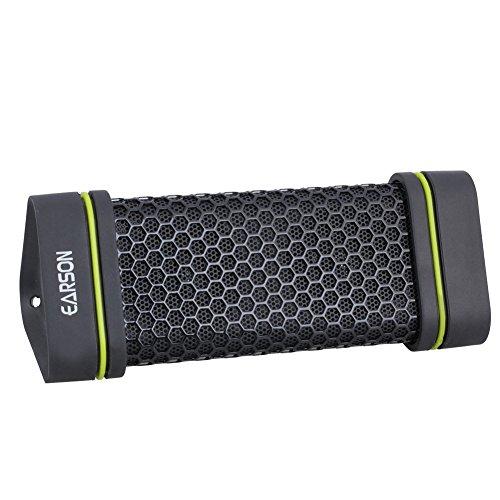 スピードタヌキBluetoothスピーカーアウトドアスポーツ防水/耐震/防塵/ 無線 搭載 スマートホン/タブレット/iPhone/ iPad/など対応 ブラック
