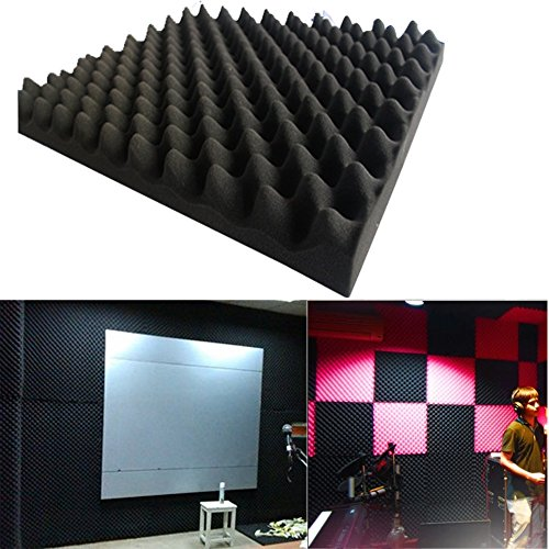 acoustic-soundproof-sound-thick-foam-board-absorption-pyramid-studio-50x50x3cm-black