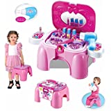 Smartcraft Beauty Play Set & Chair For Your Little Princess (Pink) , Beauty Sets , Play Sets For Kids