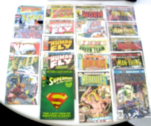 20 Classic Comic Books - Buy 20 Classic Comic Books - Purchase 20 Classic Comic Books (Various, Toys & Games,Categories,Action Figures,Statues Maquettes & Busts)