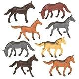 Terra - Horses Mini Figure Set - 60pcs