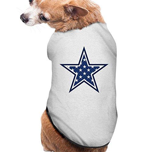 Ash Dallas Cowboys Pet Dog Sweater Doggie Jacket