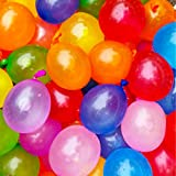 myLife Multi Colored - Flexible Latex Rubber (100 Count Pack - Standard Size) Water Bomb Grenade Balloons (Great Way to Cool Off)